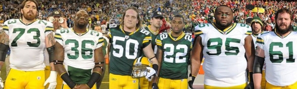 Aaron Rodgers Green Bay Packers Photobombing